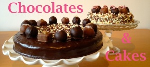 chocolates and cakes